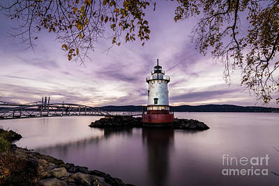 Photograph - The Tarrytown Lighthouse by Zawhaus Photography