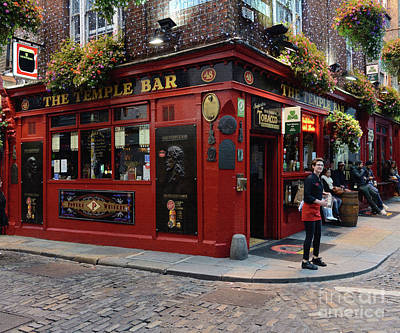 Photograph - The Temple Bar, Dublin by Tom Wurl