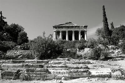 Hephaestus Wall Art - Photograph - The Temple Of Hephaestus In Athens 03 by Manolis Tsantakis