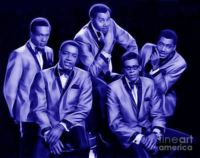 Temptation Mixed Media - The Temptations Collection by Marvin Blaine