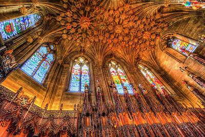 Photograph - The Thistle Chapel St Giles Cathedral Edinburgh by David Pyatt