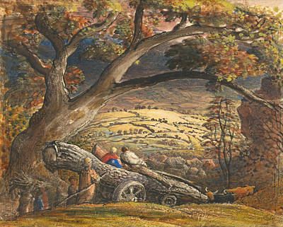 Painting - The Timber Wain by Samuel Palmer