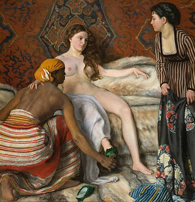 Painting - The Toilet  by Frederic Bazille