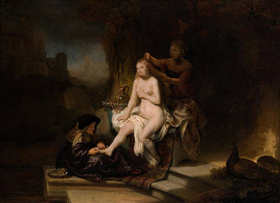 Rembrandt Painting - The Toilet Of Bathsheba by Rembrandt van Rijn