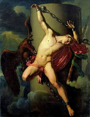 Painting - The Torture Of Prometheus by Jean Louis Cesar Lair