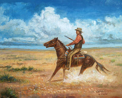 Painting - The Tracker by Mel Greifinger