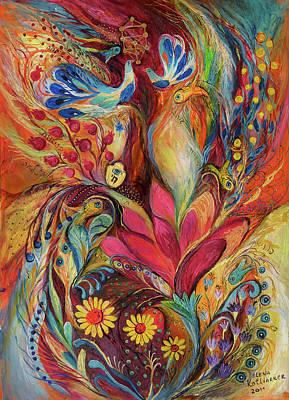 The Tree Of Life Art Print by Elena Kotliarker