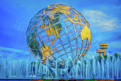 Photograph - The Unisphere by Theodore Jones