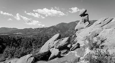 Photograph - The Valley Below by Deborah Klubertanz