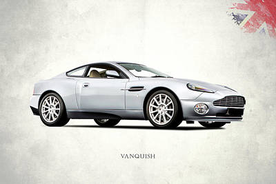 Aston Martin Photograph - The Vanquish by Mark Rogan