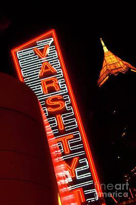Corky Willis And Associates Atlanta Photograph - The Varsity Atlanta by Corky Willis Atlanta Photography