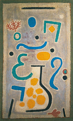 Painting - The Vase by Paul Klee