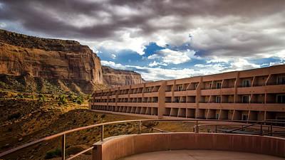 The View Hotel - Monument Valley - Arizona Art Print by Jon Berghoff