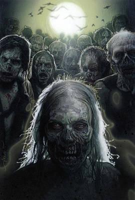 2010 Wall Art - Digital Art - The Walking Dead 2010  by Geek N Rock
