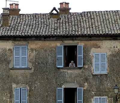 Orvieto Photograph - The Watch by Mindy Newman