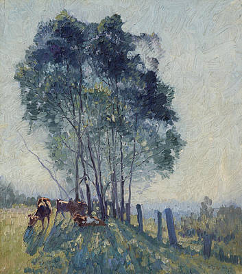 Painting - The Wattles by Elioth Gruner