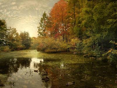 Wetlands Digital Art - The Wetlands by Jessica Jenney