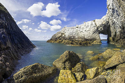 Photograph - The White Arch  by Ian Mitchell