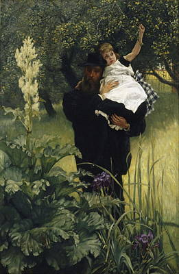 Painting - The Widower by James Tissot