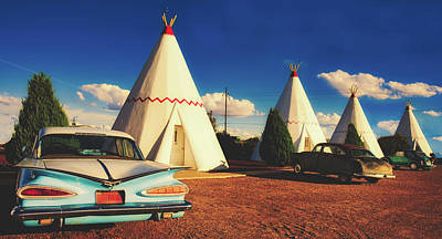 Photograph - The Wigwam Motel On Route 66  by Library Of Congress