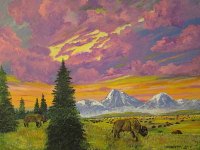 The Wild West Original by Dave Farrow