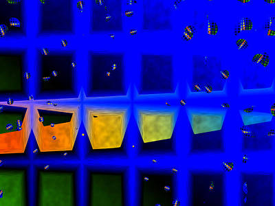 Digital Art - The Window by Contemporary Art