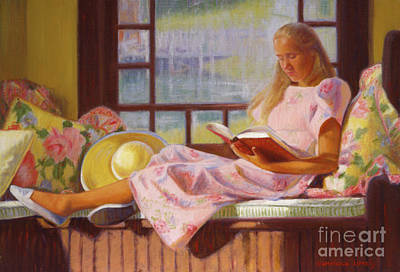 Painting - The Window Seat by Candace Lovely