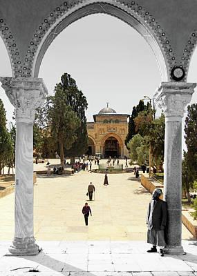 Photograph - The Al Aqsa Mosque by Munir Alawi