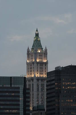 Photograph - The Woolworth Building by Christopher Kirby