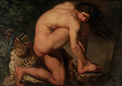 The Wounded Philoctetes Art Print