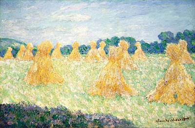 Painting - The Young Ladies Of Giverny by Claude Monet