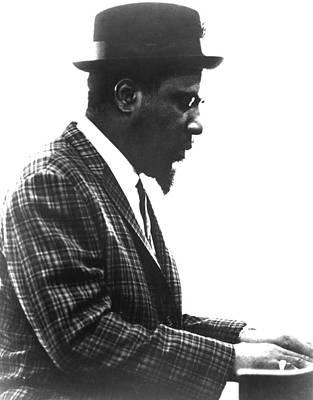 Thelonius Monk 1917-1982jazz Pianist Art Print by Everett