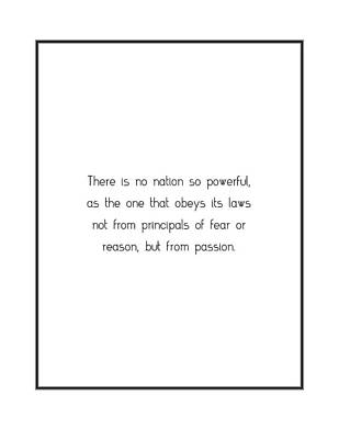 Digital Art - There Is No Nation So... by Famous Quotes