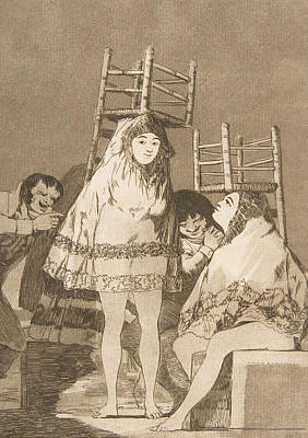 Relief - They've Already Got A Seat by Francisco Goya