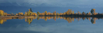 Photograph - Thin Line Of Autumn by Whispering Peaks Photography
