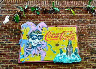 Photograph - Things Go Better With Coke by Denise Mazzocco