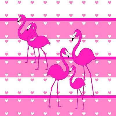 Digital Art - Think Pink by Kathleen Sartoris