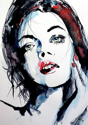 Painting - Thinking Of You by Kovacs Anna Brigitta