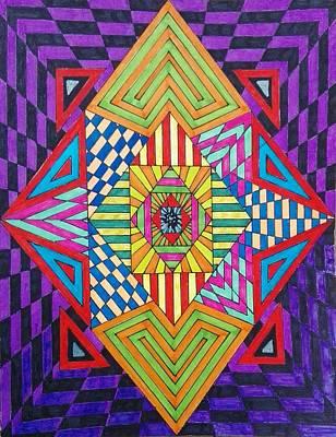 Painting - Third Eye by Jesus Nicolas Castanon