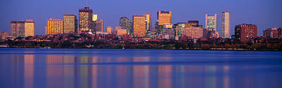 Charles River Photograph - This Is The State Capitol And Skyline by Panoramic Images