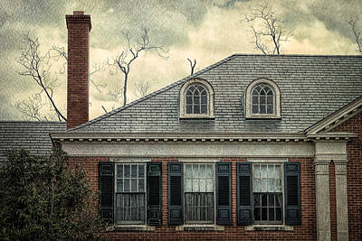 Photograph - This Old House In Georgia by Kim Hojnacki