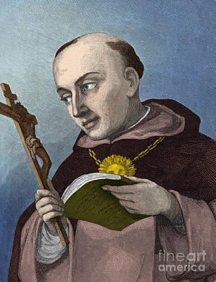 Thomas Aquinas, Italian Philosopher Art Print