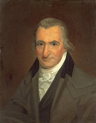 Wesley Jarvis Painting - Thomas Paine by John Wesley Jarvis