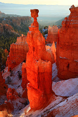 Thor's Hammer In Bryce Canyon Art Print by Pierre Leclerc Photography