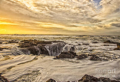 Photograph - Thor's Well by Billie-Jo Miller