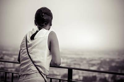 Photograph - Thoughtful Women by Alfio Finocchiaro