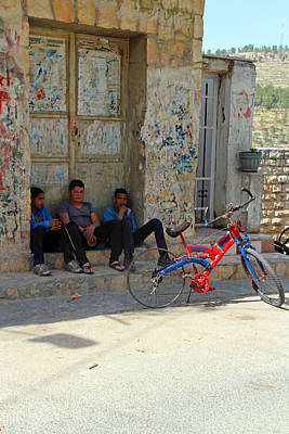 Photograph - Three Friends by Munir Alawi