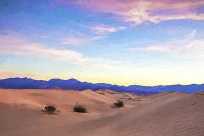 Beauty In Nature Digital Art - Three In The Sand II by Jon Glaser
