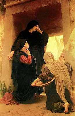 Three Marys At The Tomb Art Print
