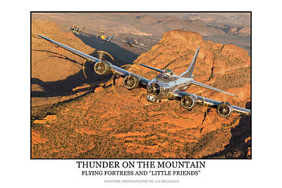 Photograph - Thunder On The Mountain by Jay Beckman